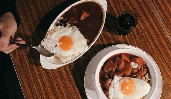 寅樂屋:彷彿在復古日本食堂享用道地日式咖哩@信義安和站/寅樂屋菜單/台北咖哩