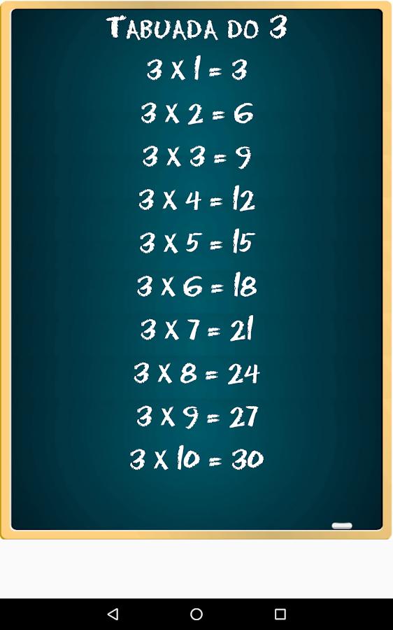 Table de multiplication free applications android sur google play - Application table de multiplication ...
