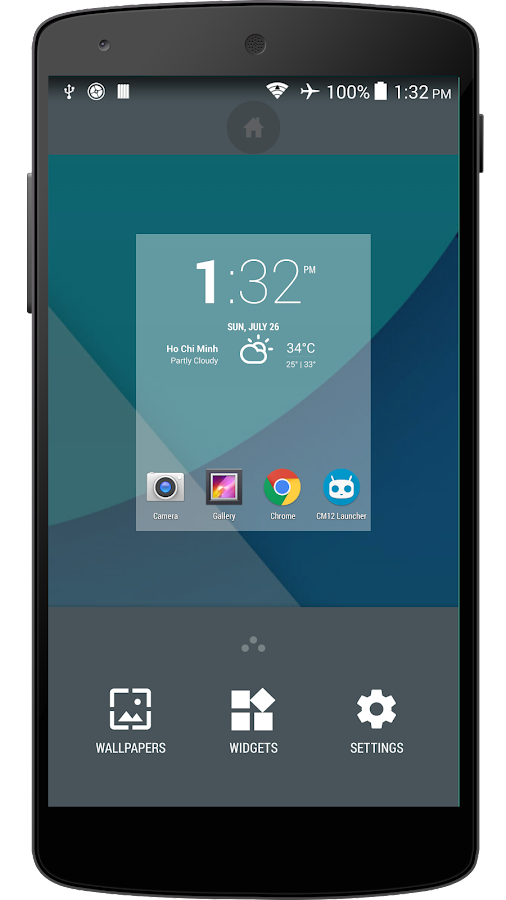 how to change screen wake animation android 6.0