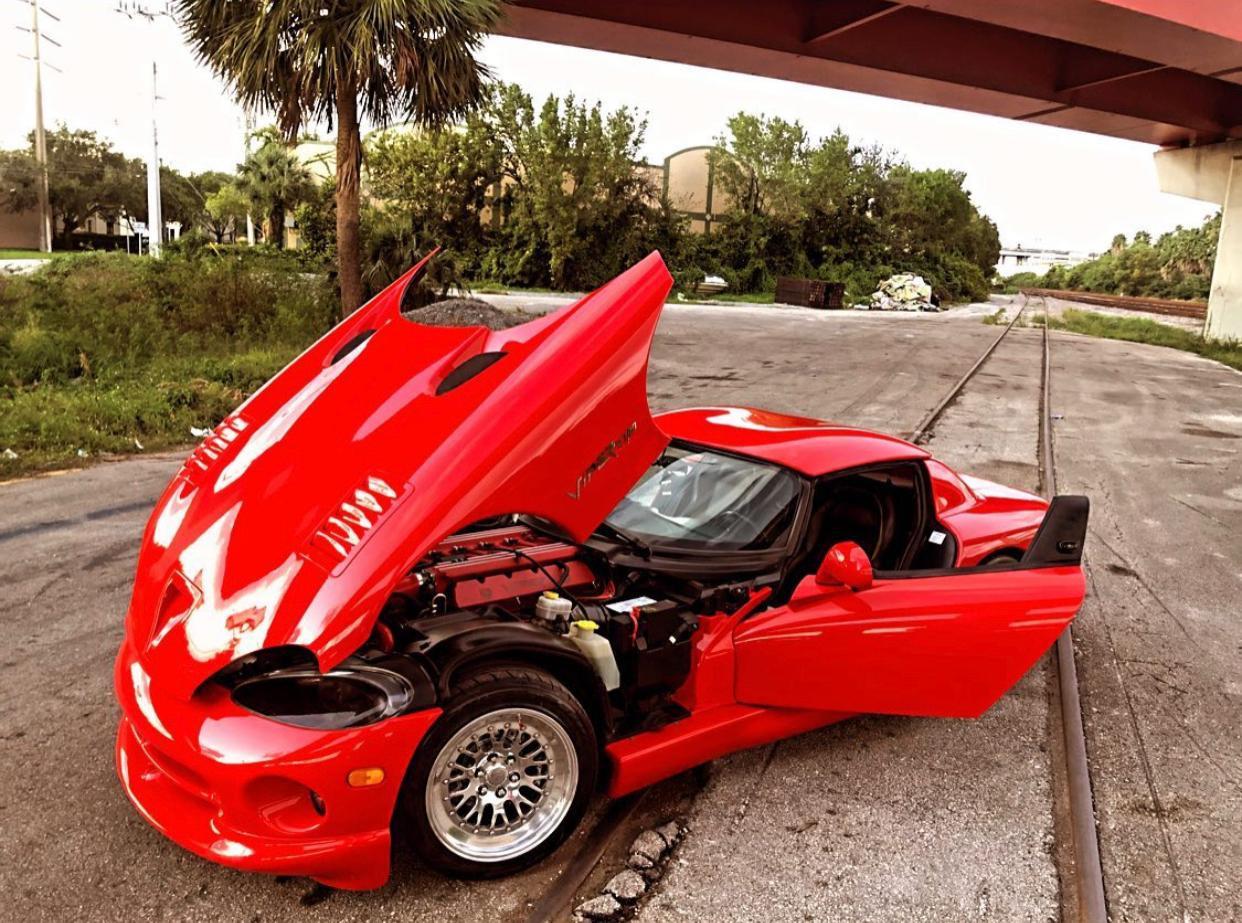 Dodge Viper Rt10 Hire Ft Lauderdale