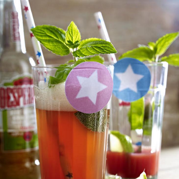Blood Orange Beer Cocktail