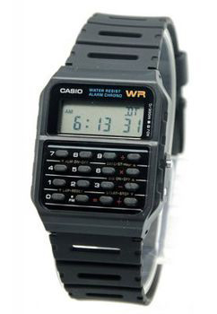 Casio CA53W Digital Calculator Watch