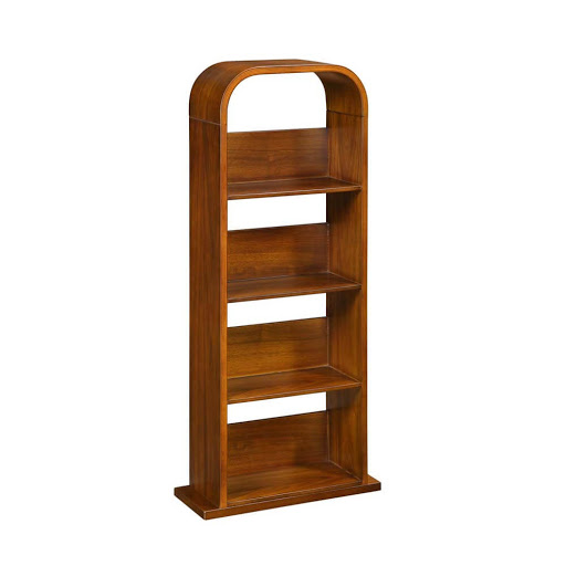 Jual Curve Walnut JF501 DVD/CD Rack