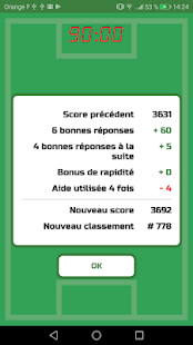 Quiz Football Club Capture d'écran
