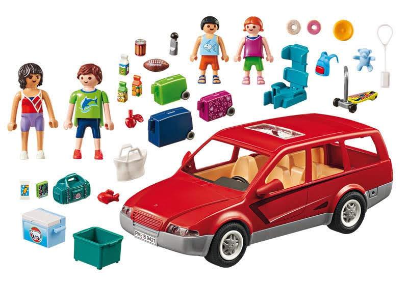 Contenido Real de Playmobil® 9421 Coche Familiar