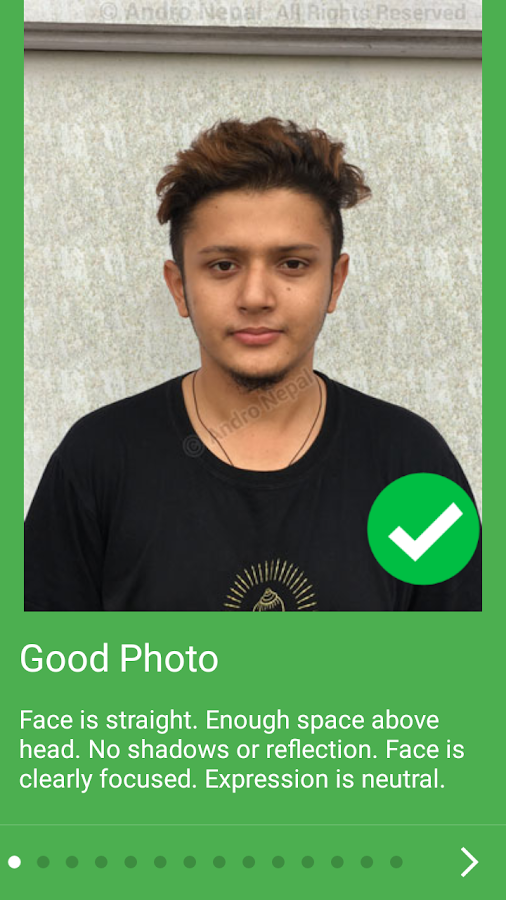Passport Size Photo Editor – ID Photo Maker Studio- screenshot