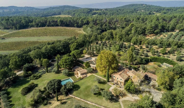 Propriété avec piscine et jardin Roussillon
