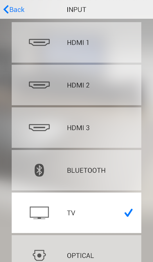 HOME THEATER CONTROLLER- screenshot