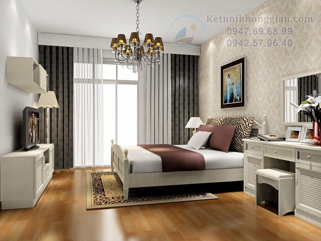 thiết kế phòng ngủ 15m2 hiện đại sang trọng