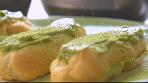 Matcha Green Tea Eclaires and Red Bean Dorayaki in Tokyo thumbnail
