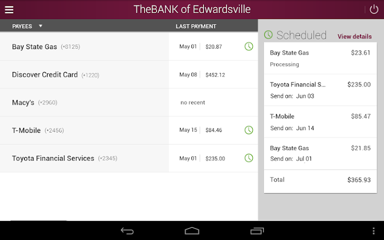 android The BANK of Edwardsville Screenshot 8