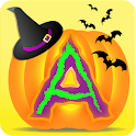 Halloween Kids Letters Tracing icon