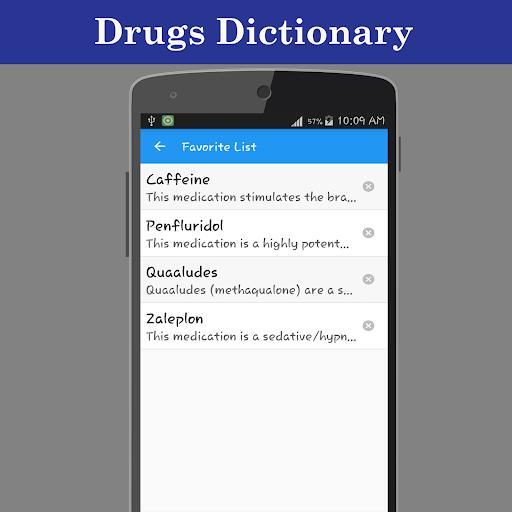 Drugs Dictionary Offline  screenshots 5
