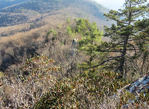 Photo: Top of Sitting Bear in the Center