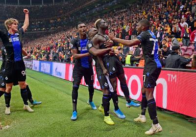 Le Club de Bruges arrache le partage face à Galatasaray en fin de rencontre !