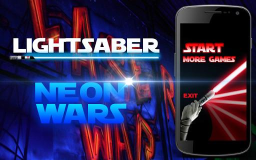 Lightsaber Neon Wars