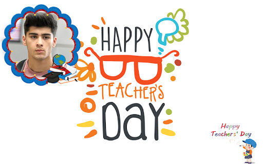 Happy Teachers Day Wish Photo Frame Maker 1.1 screenshots 8
