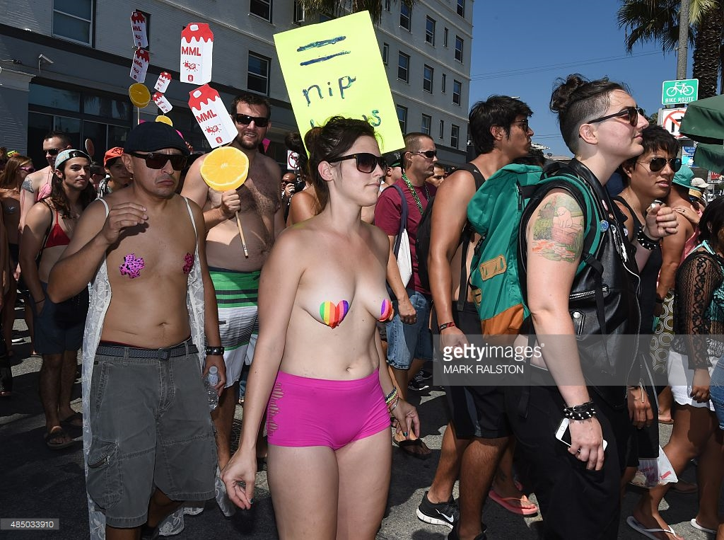 gotopless-day-demonstrators-march-during-their-annual-protest-for-picture-id485033910