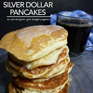 Mile High Silver Dollar Pancakes – Low Carb | Gluten Free Options.