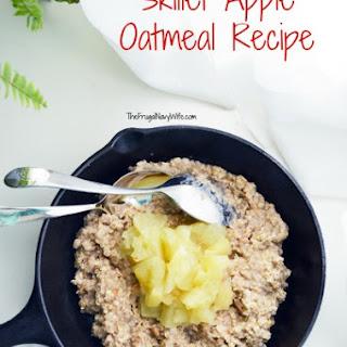 Skillet Apple Oatmeal.