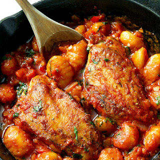 Gnocchi With Chicken And Tomato Sauce Recipes