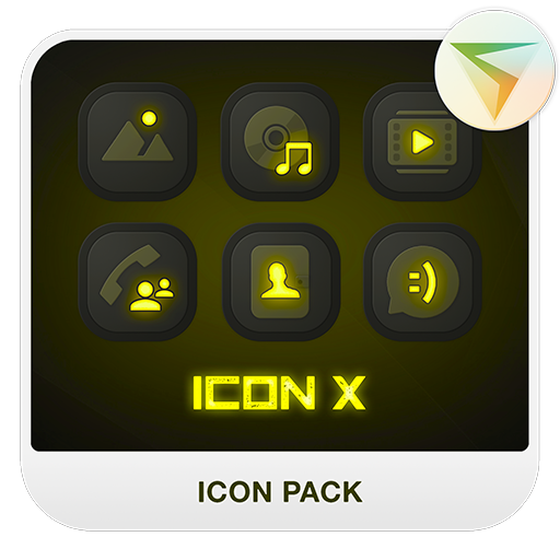 X YELLOW Icon Pack
