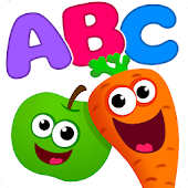 Funny Food!🥦ABC games for toddlers and babies!📚