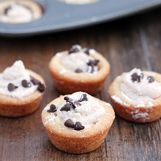 Cannoli Cookie Cups.
