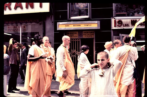 Hare Krishna Temple, 61 2nd Ave., w. side, btw. 2 & 3rd St., ca. 1969