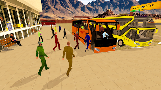Coach Bus Simulator Driving 2: Bus Games 2020  Apk Download For Android and Iphone 1