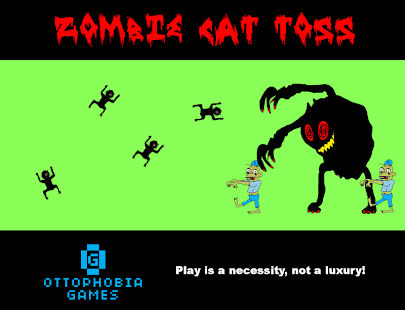 Zombie Cat Toss- screenshot thumbnail
