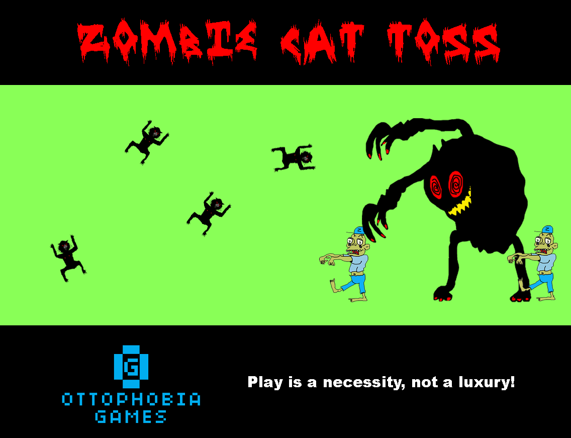 Zombie Cat Toss- screenshot