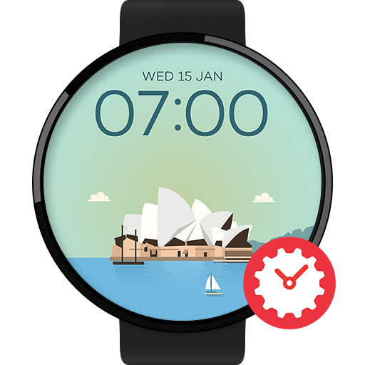 Sydney watchface by Sol