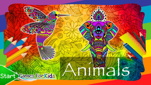 Mandalas of Animals for Coloring 4.0.0 screenshots 1
