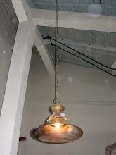 Photo: Autentiškas šviestuvas
