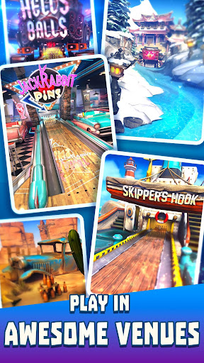 Code Triche Bowling Crew - 3D bowling game APK MOD screenshots 5
