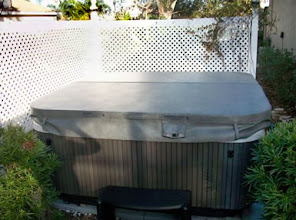 Photo: We recently purchased a hot tub and had every intention of having a cement pad poured for us.  Since it was a small job, we found it impossible to get anyone to call us back.  After researching on how to pour a pad ourselves, we came across EZ Pad.  What a great product!  Delivery was quick and set-up was easy with 2 people.  Our hot tub was delivered 2 days later and we were able to enjoy our Christmas gift on Christmas.  I would recommend this product to anyone who wants a small pad.   Mark and Donna P., Bradenton, FL