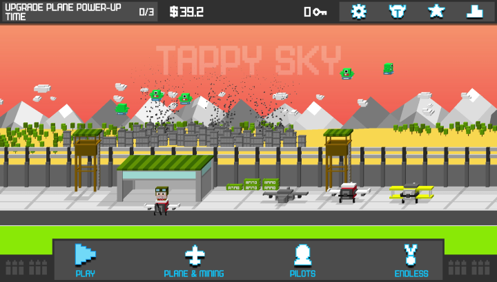 Tappy Sky– Endless Tap Shooter- screenshot