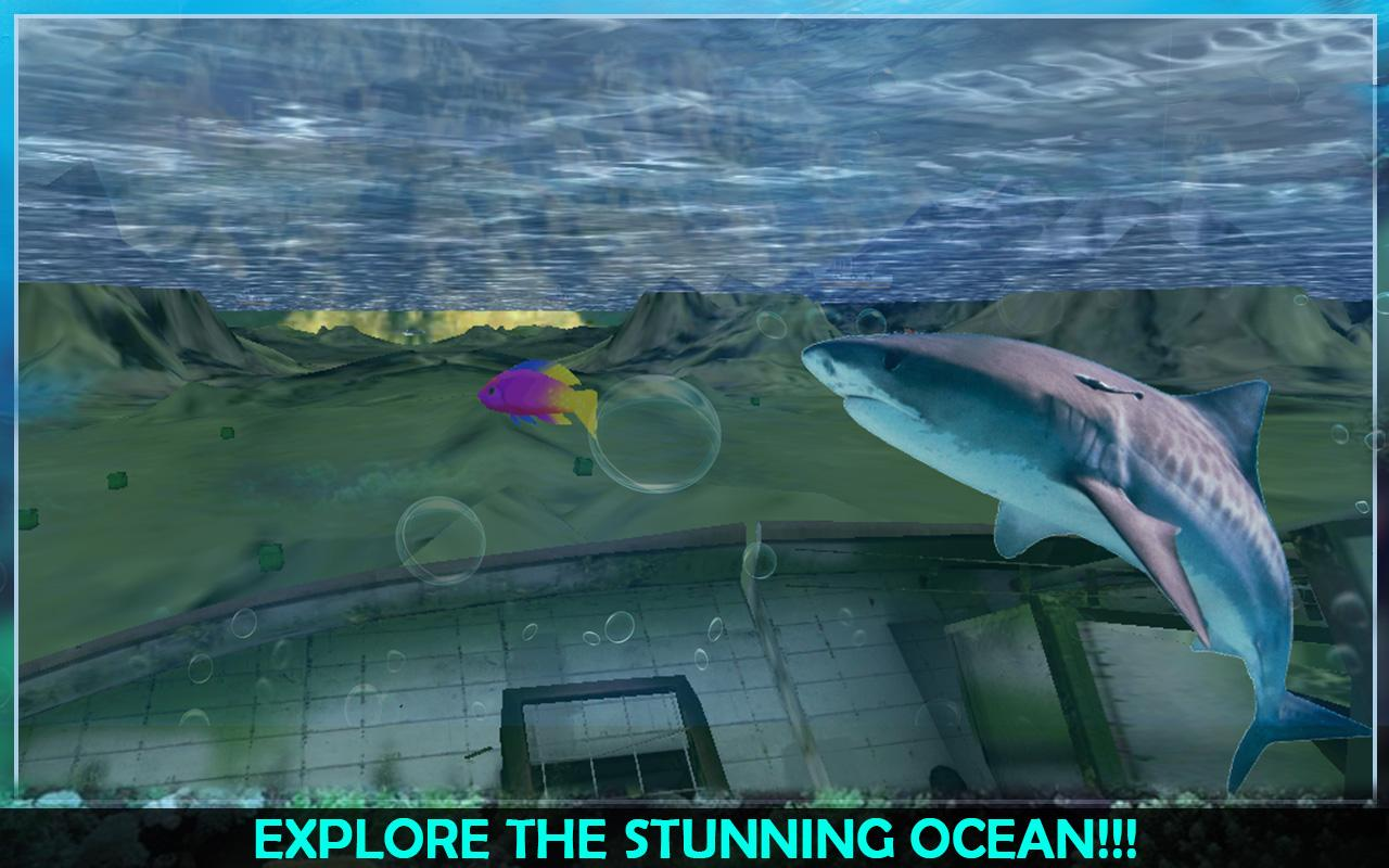 Angry Sea White Shark Revenge- screenshot