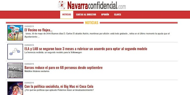 Navarra Confidencial- screenshot thumbnail