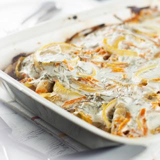 Healthy White Fish Bake.