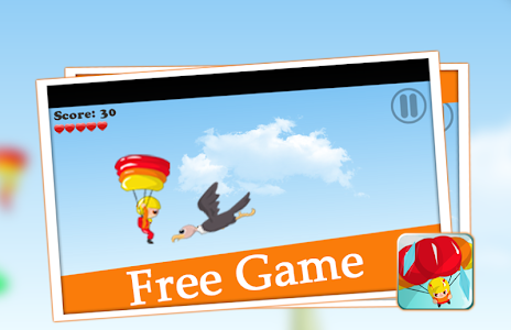 😎 parachute games flying sky screenshot 2