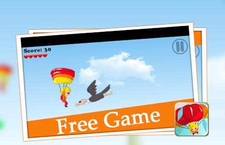 😎 parachute games flying sky screenshot 2