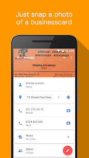 Business card reader android apps on google play business card reader screenshot thumbnail business card reader screenshot thumbnail reheart Gallery