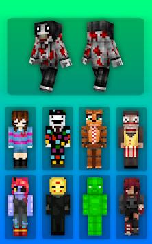 download creepypasta skins for minecraft apk latest version app for