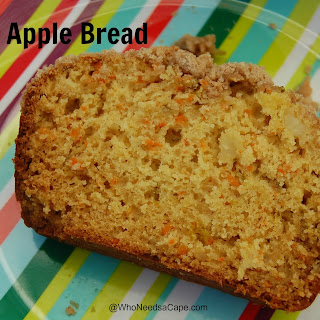 Carrot Apple Bread