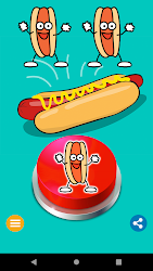 Hot Dog Jelly Button