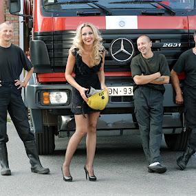 Happy team members by Nadezda Tarasova - People Group/Corporate (  )