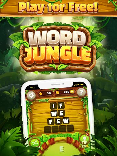 Word Jungle - FREE Word Games Puzzle apktram screenshots 5