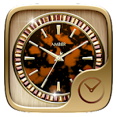 Amber GO Clock Theme